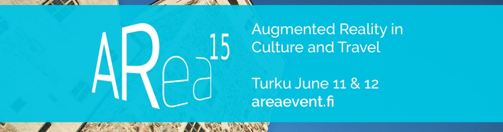 On June 11&12 we host the ARea15 conference, the #1 AR event of 2015 in Finland