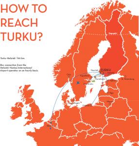 How to reach Turku